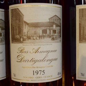 Bas Armagnac Dartigalongue 1975