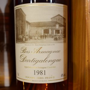 Bas-Armagnac Dartigalongue 1981