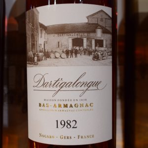 Bas-Armagnac Dartigalongue 1982