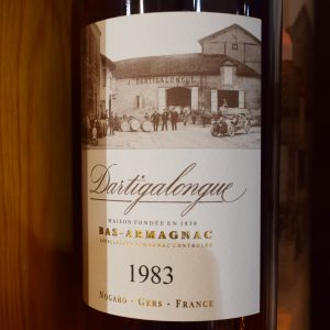 Bas-Armagnac Dartigalongue 1983