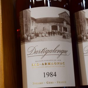 Bas-Armagnac Dartigalongue 1984