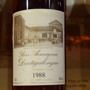 Bas Armagnac Dartigalongue 1988