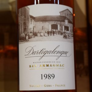 Bas Armagnac Dartigalongue 1989
