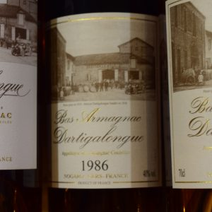 Bas Armagnac Dartigalongue 1986